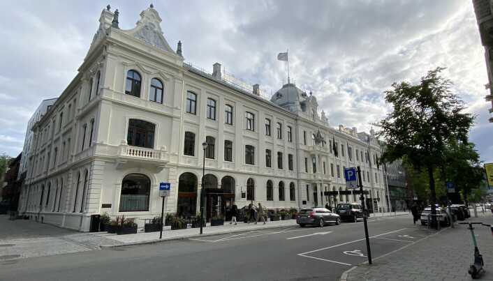 Britannia Hotel. (Foto: Morten Holt)