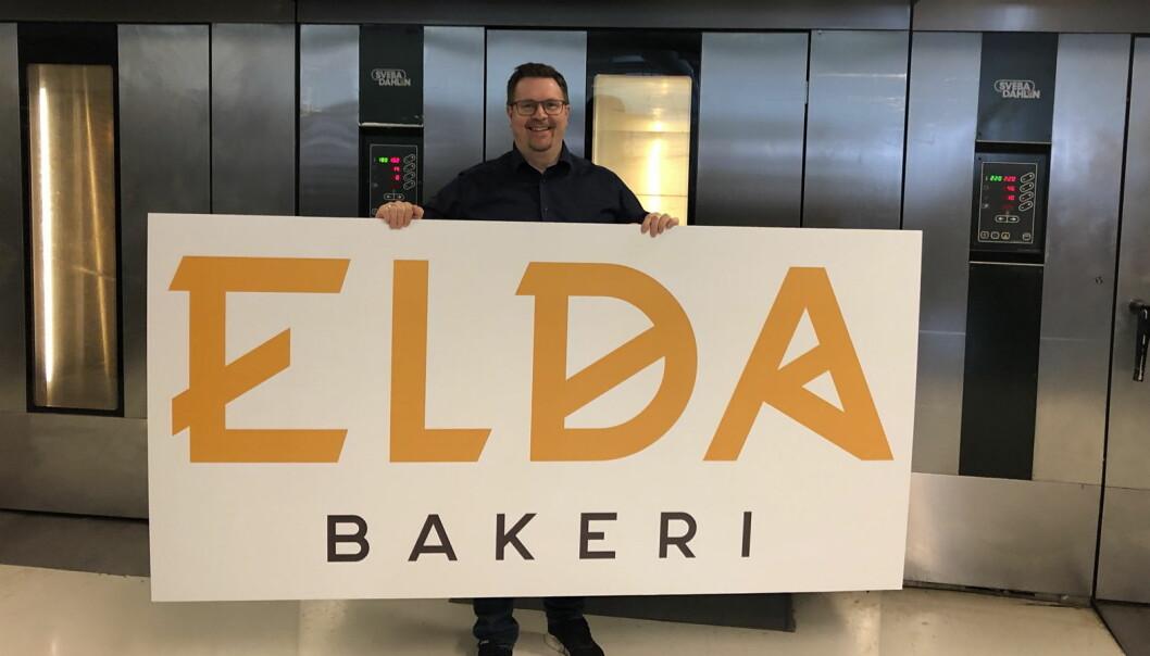 Mattias Skoglund hos Elda Bakeri. (Foto: Elda Bakeri)