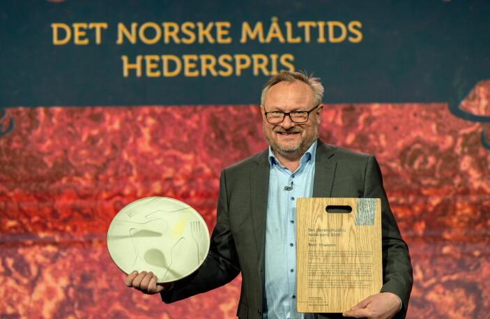 Bent Stiansen føyer seg inn i en celeber rekke. (Foto: Det Norske Måltid/Bitmap)