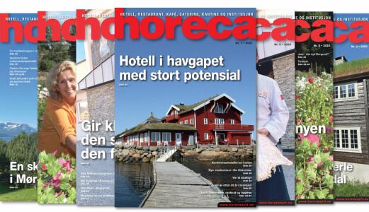 Årets første Horeca-magasin på vei til abonnentene