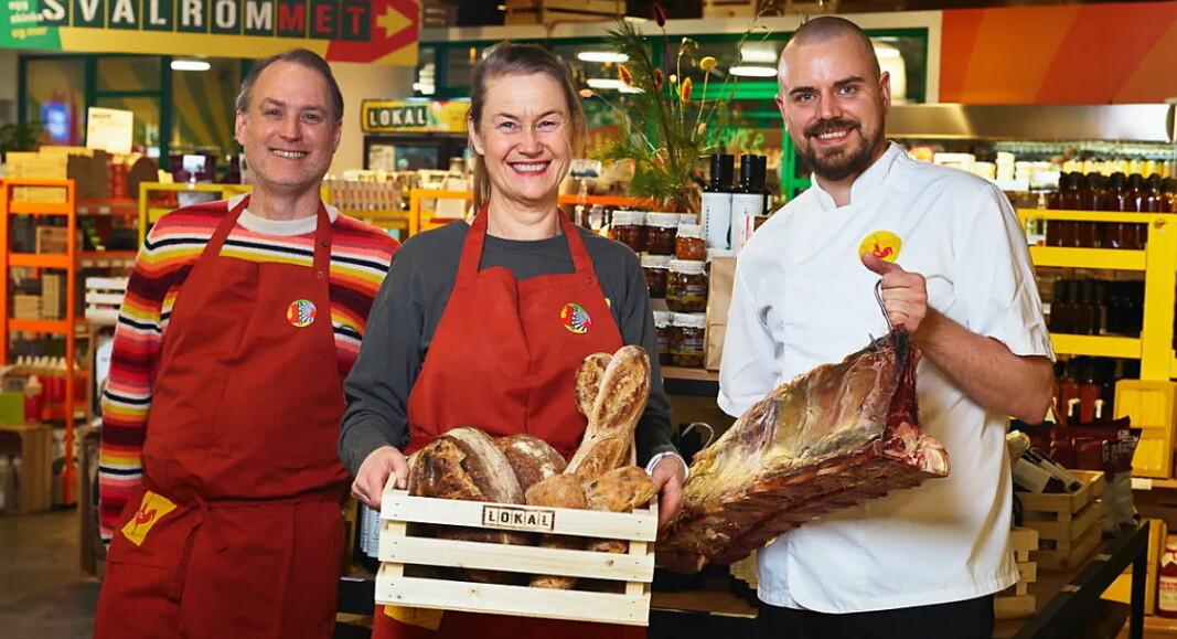 Lokal på Hoff gleder seg over samarbeidet med Foodora. (Foto: Foodora)