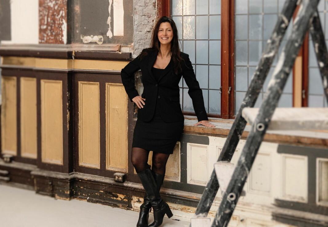 Linda Alm er hotelldirektør på Hotel Mårtenson. (Foto: Hotel Mårtenson)