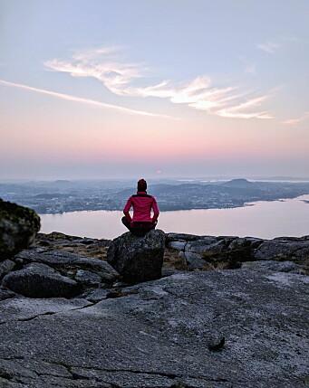 Dalsnuten ved Gandsfjorden - med utsikt mot Sandnes. (Foto: Fjord-Norge/Neta Inoma)