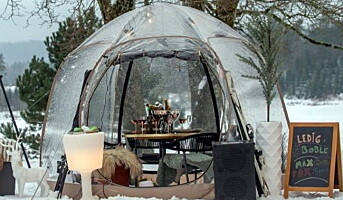 Dette er «korona-teltet»