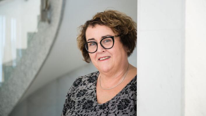 Landbruks- og matminister Olaug Bollestad er bekymret for rekrutteringen til mat- og måltidsbransjen. I dag mottok hun en rapport med mange forslag til tiltak. (Foto: Torbjørn Tandberg)