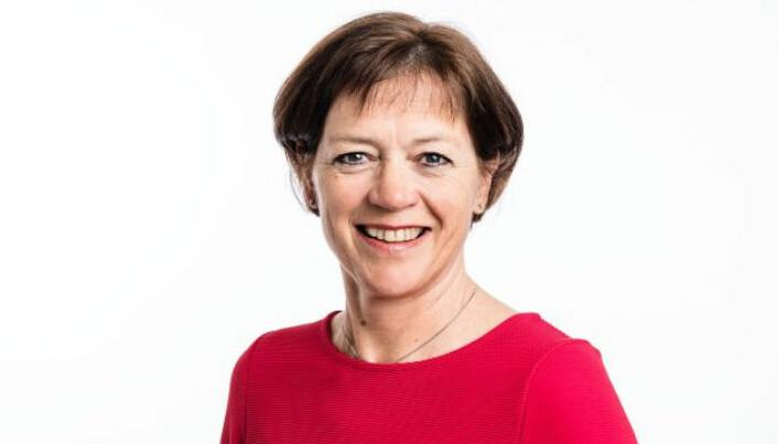 Grete Ingeborg Nykkelmo mener mat- og måltidsbransjen er en god karrierevei for ungdommen, men er bekymret for den sviktende rekrutteringen og konsekvensene av pandemien. (Foto: Ungt Entreprenørskap)