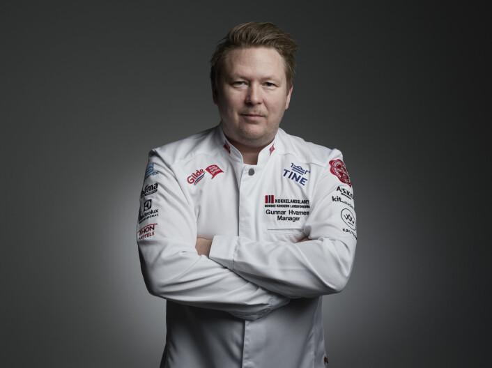 Gunnar Hvarnes er manager for de norske kokkelandslagene i 2021-2025. (Foto Tom Haga)