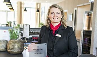 Kåret til «Årets leder» i Classic Norway Hotels