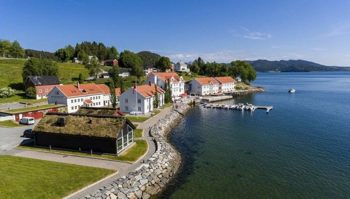 Årets hotell i Classic Norway Hotels: Angvik Gamle Handelssted. (Foto: Classic Norway Hotels/Einar Engdal)