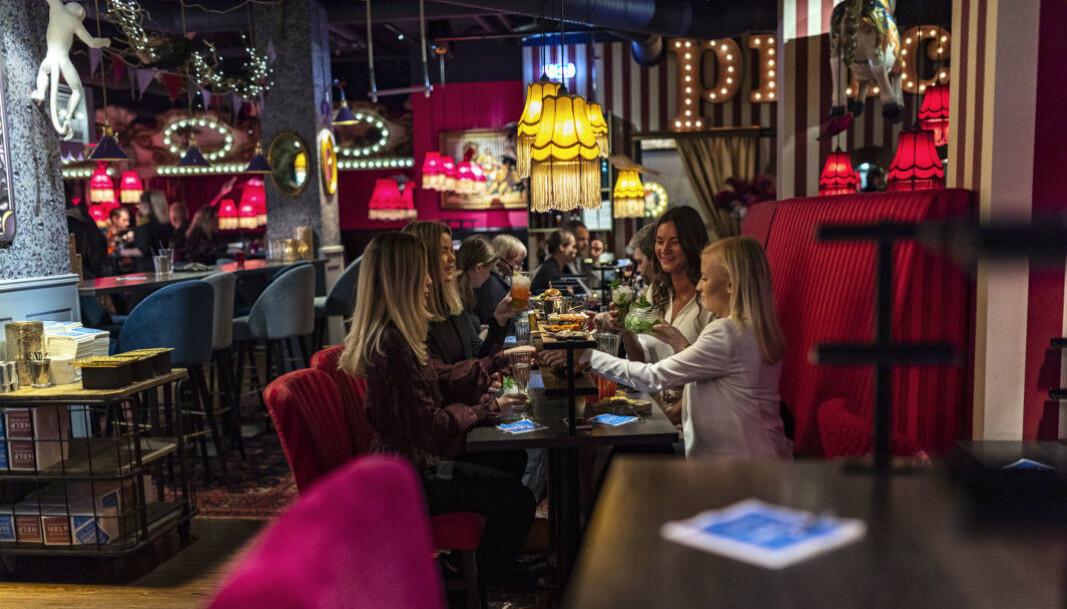 Pincho Nations konsept er «destinasjonsrestaurant» der interiøret tar kunden «rett inn i sirkusmanesjen». (Foto: Pincho Nation)