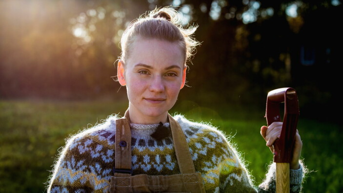Astrid Regine Nässlander. (Foto: Anton Brekne, NRK)