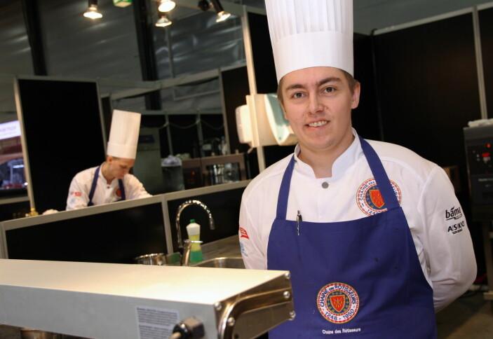 Emil Lundemo Bakken er en av dem som skal lage den norske VM-maten i Oberstdorf. (Foto: Morten Holt, arkiv)