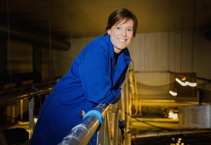 Seniorforsker ved Nofima, Åsa Maria Espmark, karakteriserer Navadas avhandling og resultater som veldig viktig og direkte matnyttig for både forskningsmiljøet og bransjen. (Foto: Terje Aamodt, Nofima)