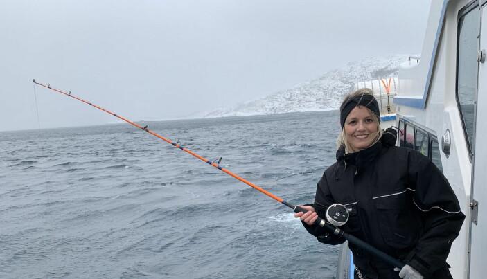 Sjømatutsending Trine Horne. (Foto: Simen G. Fangel)