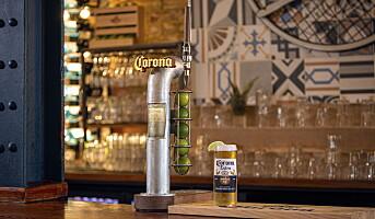 Nå lanseres Corona på tapp i Norge