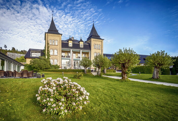 Hotell Refsnes Gods er ett av 19 hoteller i Classic Norway Hotels. (Foto: Classic Norway Hotels/Christer Olsen - Christerolsenphoto)