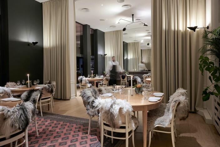 Restaurant Bare, som har en Michelin-stjerne, er med i De Bergenske. (Foto: Kristin Jørgensen)