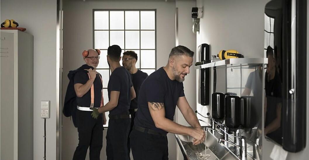 Hjelper produksjonsbransjen å møte den nye hygienestandarden