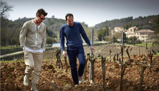 Verdensnyhet fra Brad Pitts vingård