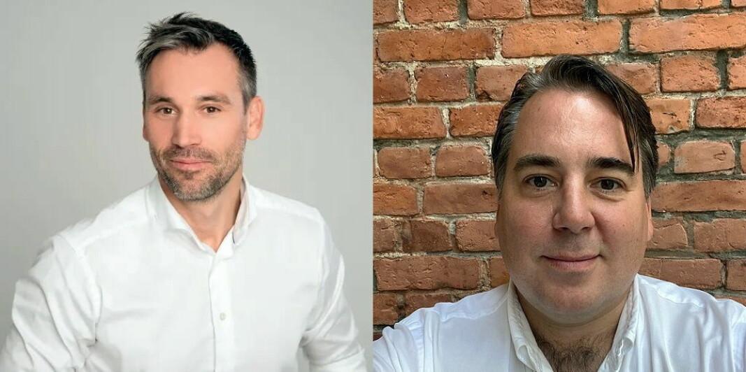 Martin Land (til venstre) og Erlend Ellingsen er ansatt hos rådgivningsselskapet Tribun. (Foto: Tribun)