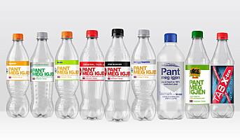 Sparer tusenvis av tonn med plast