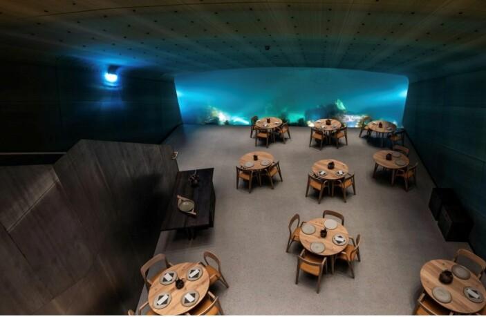 Restaurant Under. (Foto: Tomasz Majewski Lyskultur, arkiv)