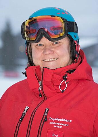 Daglig leder for Trysilguidene, Eva Ruder Thorén. (Foto: Jonas Hasselgren)