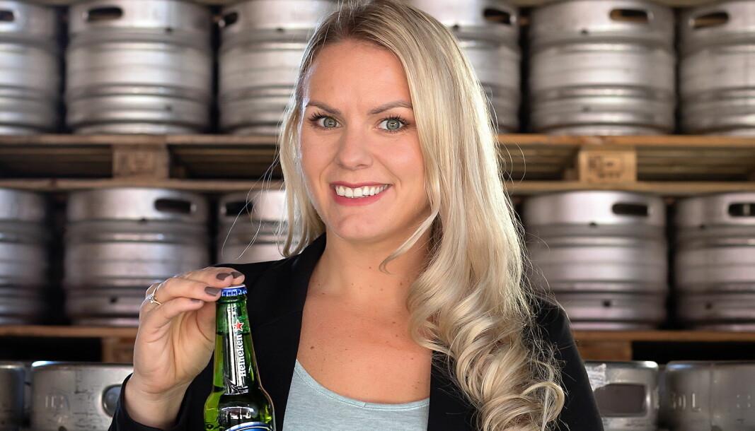 Merkevaresjef for Heineken i Hansa Borg, Henriette Berland. (Foto: Hansa Borg)