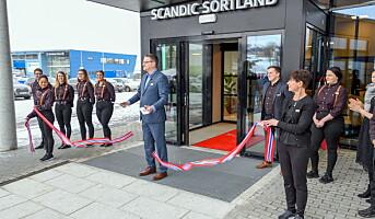 Scandic Sortland har åpnet