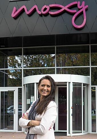 Hotelldirektør for Moxy Bergen, Monica Selvik. (Foto: Moxy Bergen)