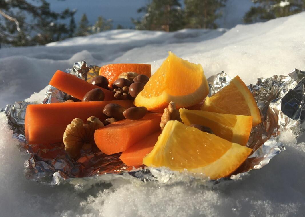 Påskefrukten over alle: Appelsinen. (Foto: OFG)