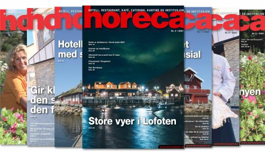 Nytt Horeca-magasin på vei til abonnentene