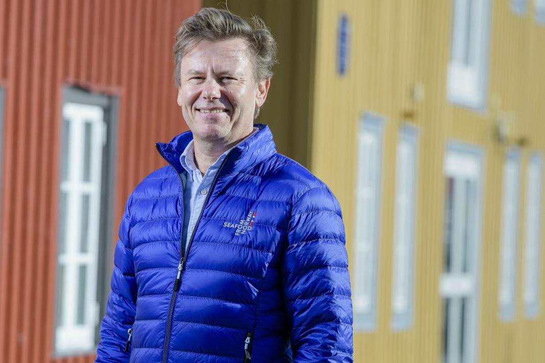 Trym Eidem Gundersen blir ny Norden-sjef i Norges sjømatråd. (Foto: Norges sjømatråd/Lars Åke Andersen)