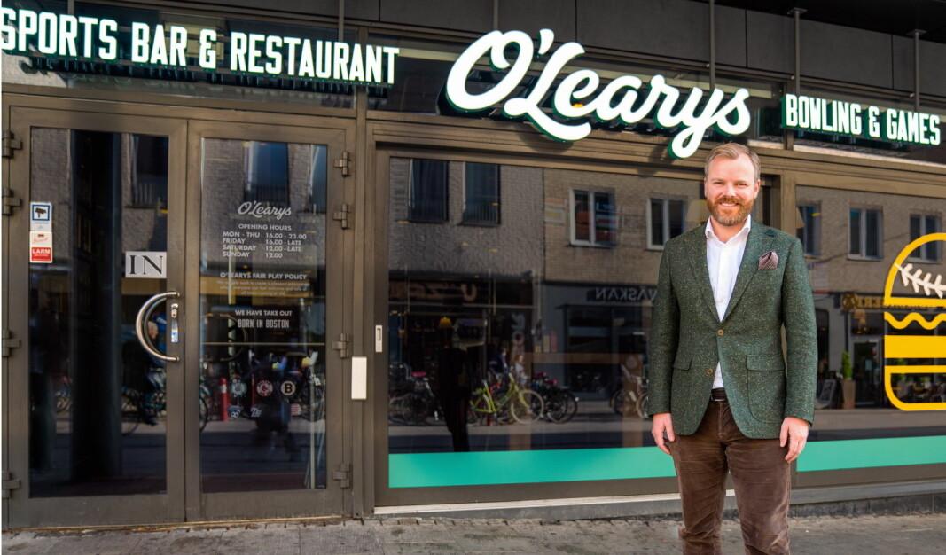 Administrerende direktør i O'Learys Trademark, Kenneth Lorentzen. (Foto: O'Learys)