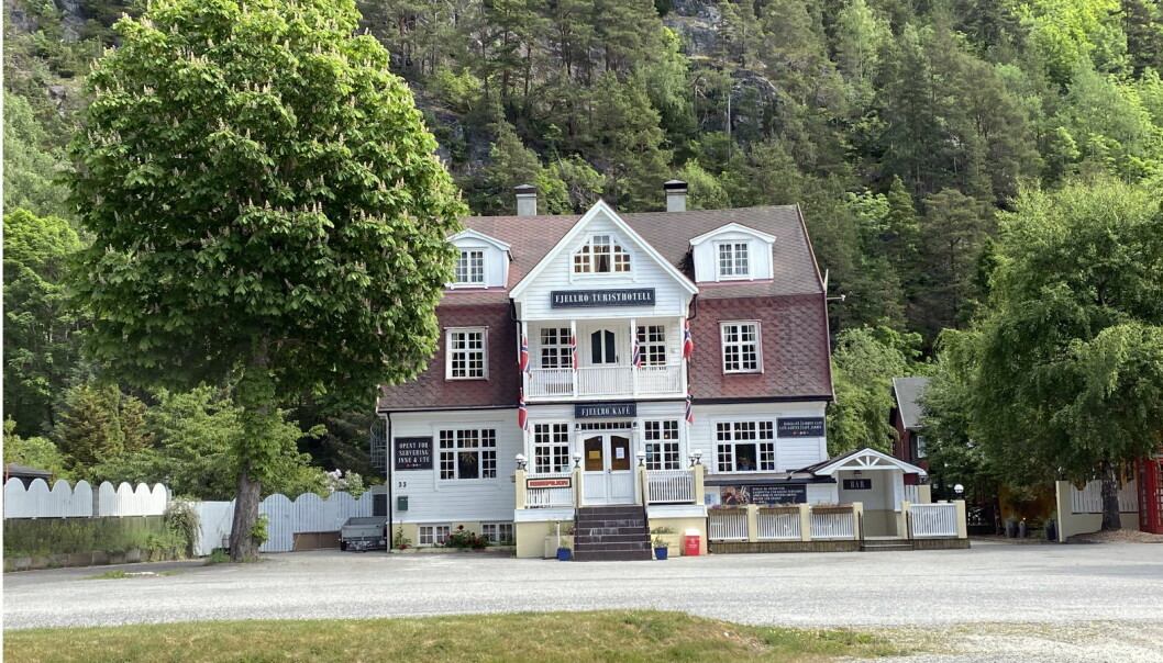 Fjellro turisthotell.