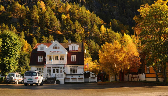 Fjellro turisthotell i Valldal har 24 rom. (Foto: Hotellet)