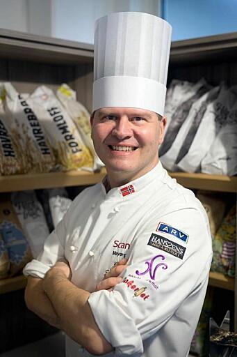 Svein Jæger Hansen har vært kjøkkensjef på Scandic Meyergården i Mo i Rana i en årrekke. (Foto: Privat)