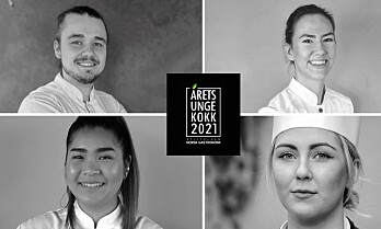 Disse kan vinne Årets unge kokk 2021