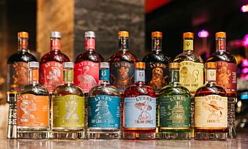 Ny serie med alkoholfri sprit i Norge
