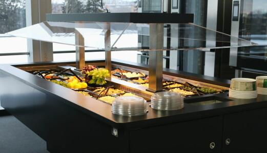 Ny norskprodusert salatbar