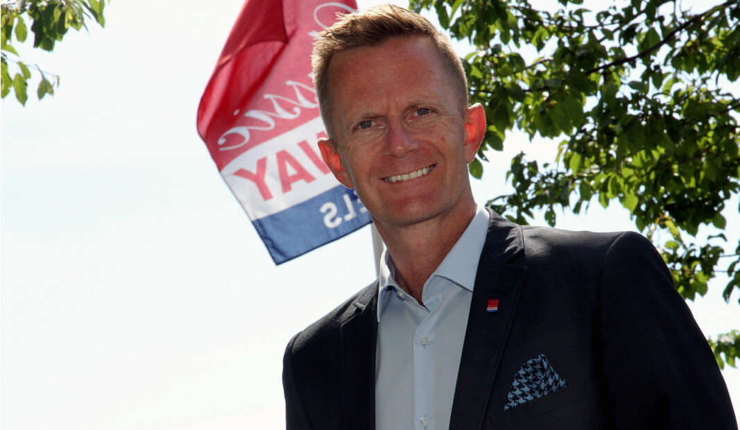 Administrerende direktør i Classic Norway Hotels, Stephen Meinich-Bache. (Foto: Morten Holt)