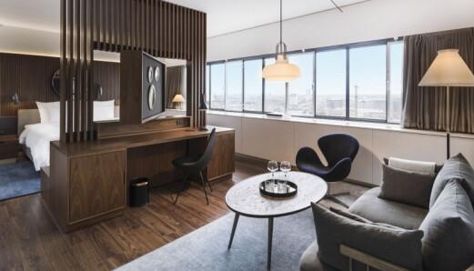 Feirer Arne Jacobsens mesterverk-hotell