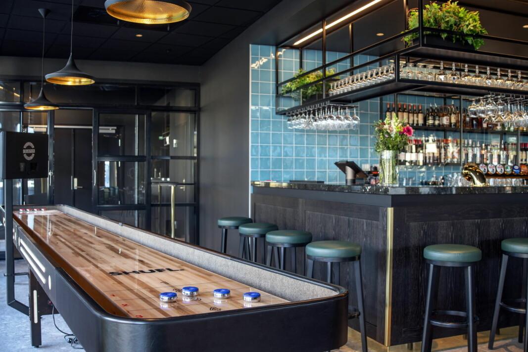 Den nye aktivitetsbaren Bar Bassit. (Foto: Thon Hotels)