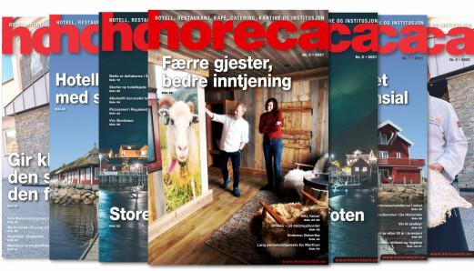 Årets tredje Horeca-magasin på vei til abonnentene
