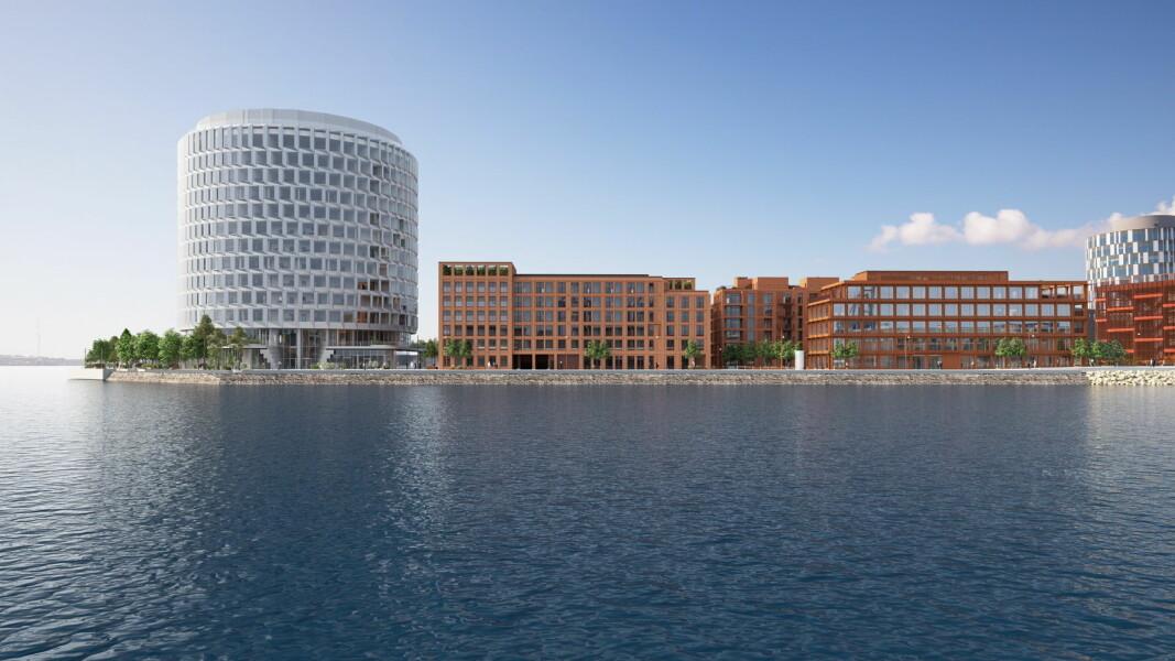 Residence Inn by Marriott Copenhagen Nordhavn skal stå ferdig i 2023. (Foto: Core Hospitality)