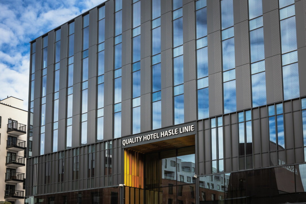Quality Hotel Hasle Linie åpner i august 2021.