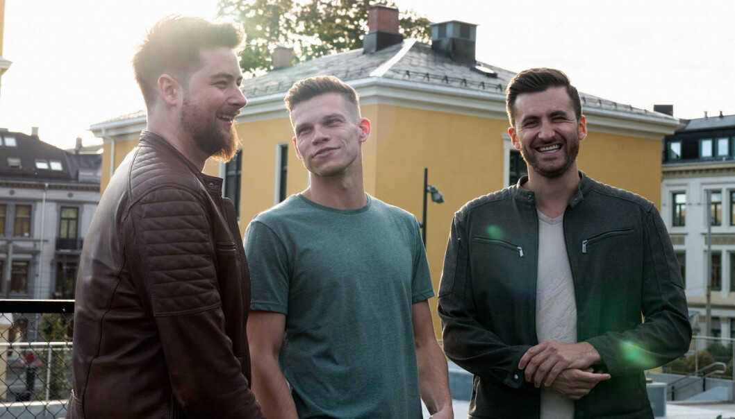 Kristian Midjaas, Christian Wright og Thom Berglund står bak Staffers. (Foto: Staffers)