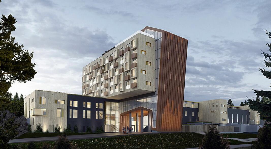 1. juni åpnes det nye hotellet på The Well. (Illustrasjon The Well)