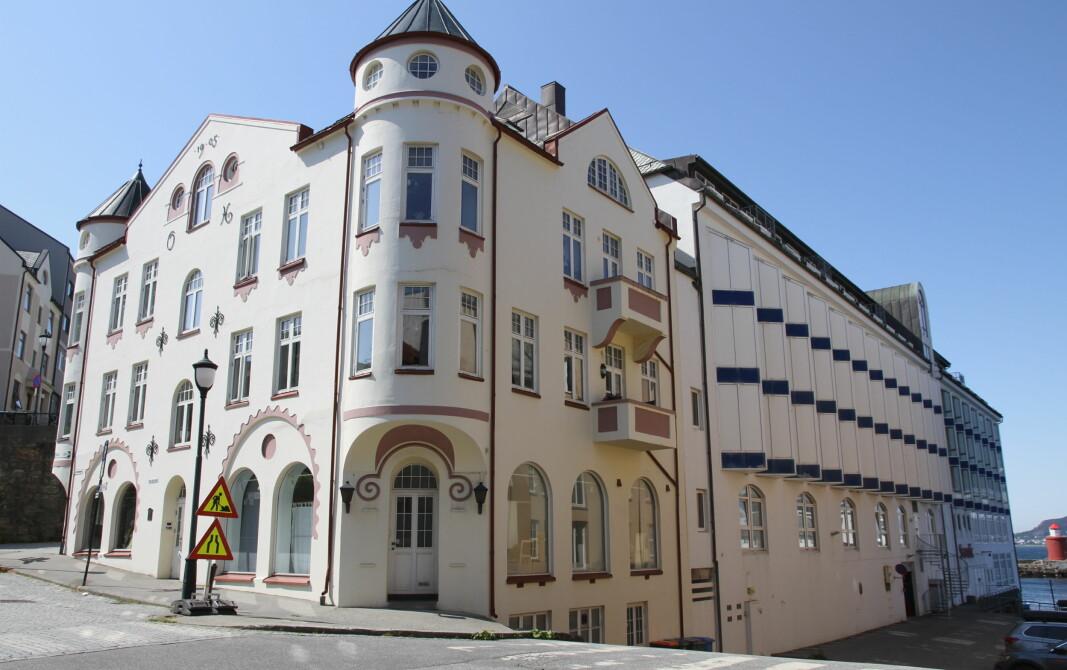 Thon Hotel Ålesund. (Foto: Morten Holt, arkiv)
