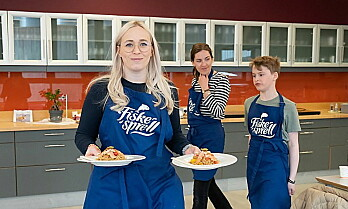 Imponerende sjømatretter i barn og unges kokkekonkurranse